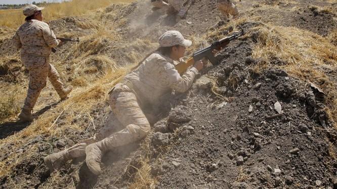 Chiến binh người Kurd