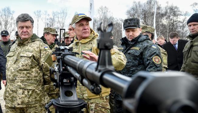 Ông Poroshenko thề đoạt lại Crimea từ tay Nga