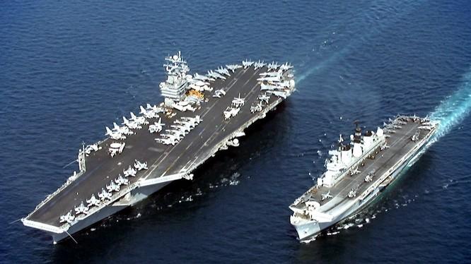 Tàu sân bay USS John C. Stennis. Ảnh: US Navy
