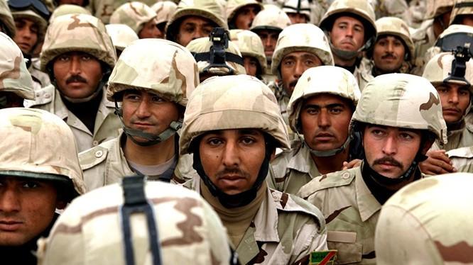 Binh sĩ Iraq chuẩn bị chiến dịch giải phóng Mosul