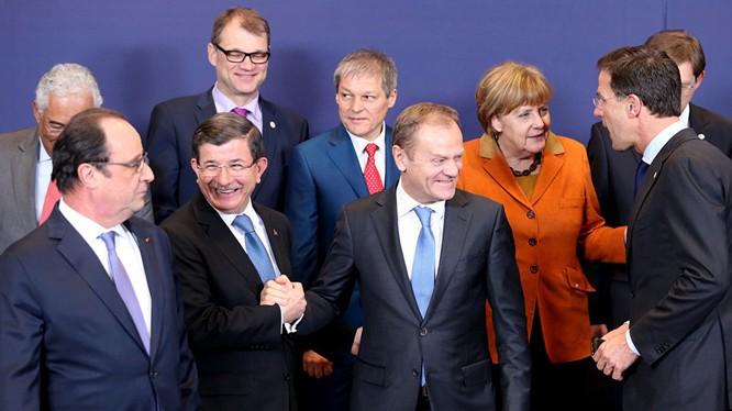 Thổ Nhỹ Kỳ và EU đã tạm thời đạt thoả thuân về người nhập cư