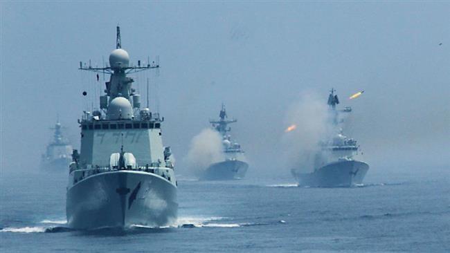 Hải quân Trung Quốc gần đây liên tục tập trận bắn đạn thật gây căng thẳng khu vực