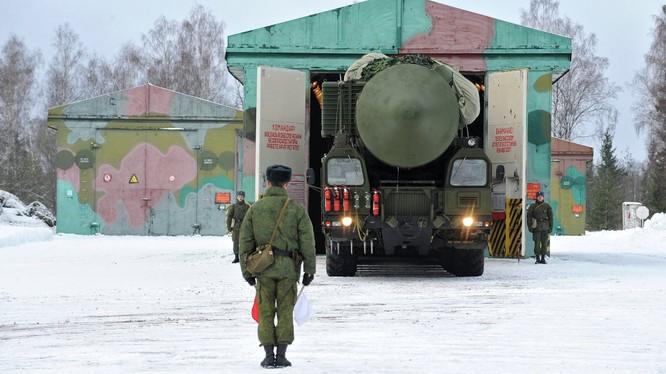Tên lửa đạn đạo liên lục địa Nga