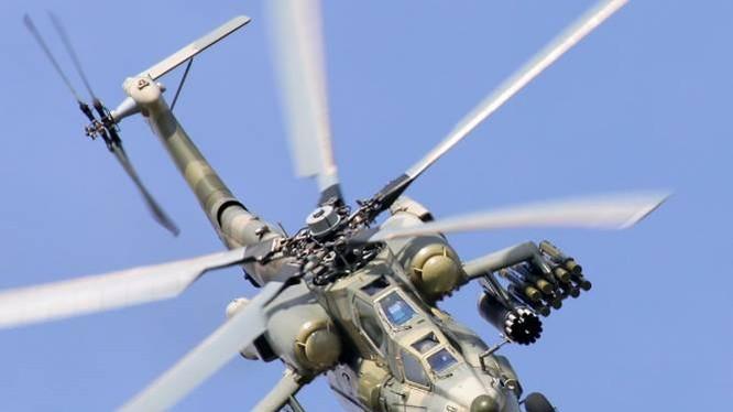 """Trực thăng """"thợ săn đêm"""" MI-28 của Nga"""