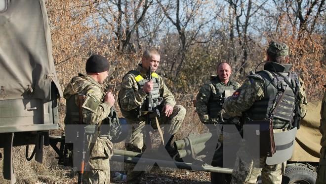 Binh sỹ Ukraine. (Nguồn: AFP/TTXVN)