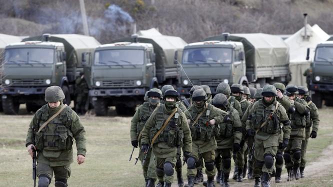 Binh sĩ Nga tại Crimea