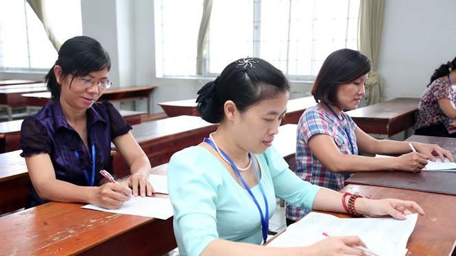 Có một số thay đổi trong quy định chấm thi phúc khảo trong kỳ thi THPT quốc gia 2016 - Ảnh: Đào Ngọc Thạch