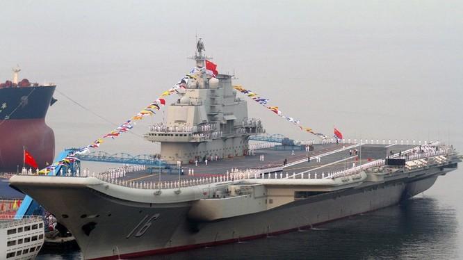 Tàu sân bay Liêu Ninh của Trung Quốc bị đánh giá thấp về khả năng tác chiến
