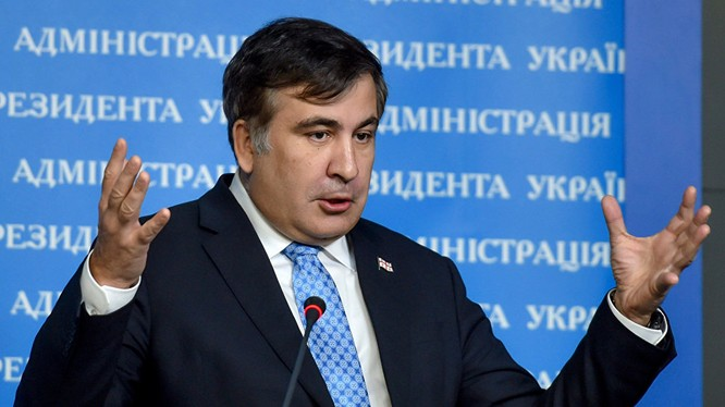 Ông Saakashvili