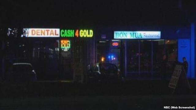 Nhà hàng nơi xảy ra vụ nổ súng