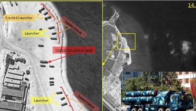 Trung Quốc triển khai tên lửa tại Hoàng Sa gây căng thẳng khu vực