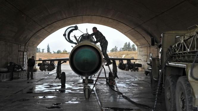 Máy bay Mig-21 của không quân Syria