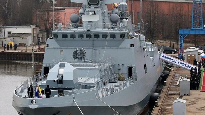 Khu trục hạm mới của hải quân Nga