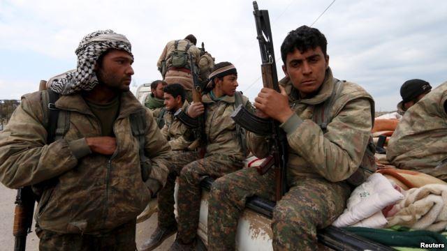 Chiến binh người Kurd Syria