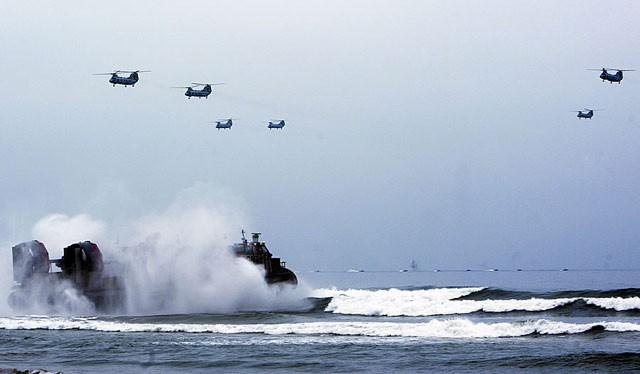 Quân đội Mỹ ngày càng tăng cường hiện diện ở Biển Đông