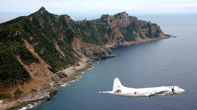 Máy bay tuần tra P-3 Orion của Nhật trên biển Hoa Đông