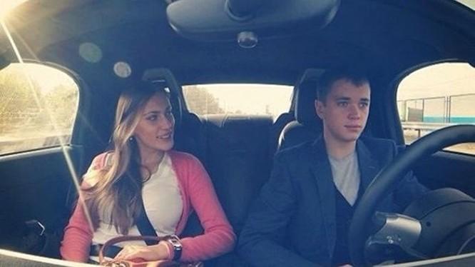 Olga Klimenko và Aleksandr Bozhko
