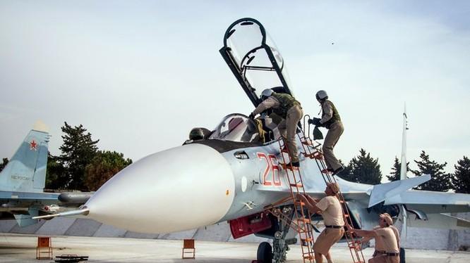 Tiêm kích Su-30SM của Nga tham chiến tại Syria