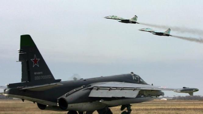 Chiến đấu cơ Nga tham chiến tại Syria