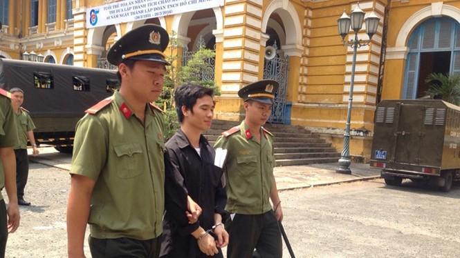 Bị cáo Trai tại tòa - Ảnh: Ngọc Lê