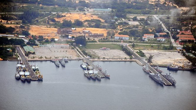 Quân cảng Cam Ranh của Việt Nam có vị trí chiến lược to lớn