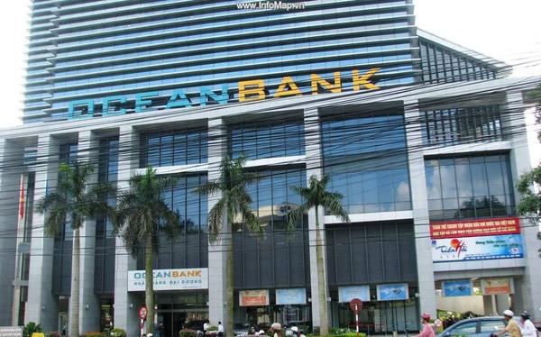 Oceanbank là một trong các ngân hàng được mua lại với giá 0 đồng