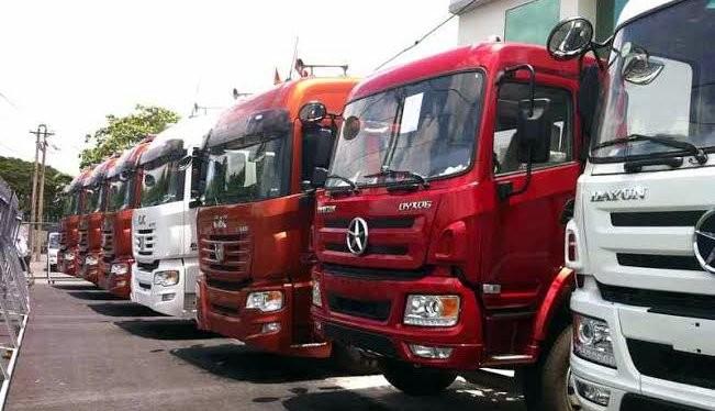 Xe ô tô tải Trung Quốc đang làm mưa làm gió tại thị trường Việt Nam