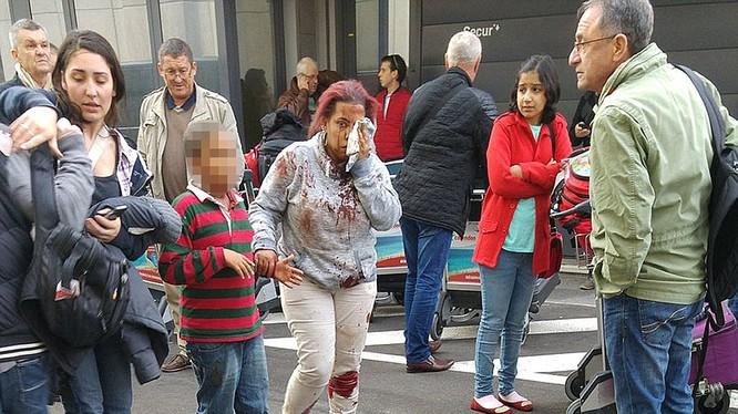 Brussel rung chuyển bởi loạt vụ tấn công khủng bố đẫm máu