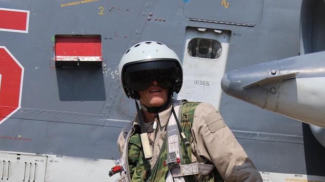 Phi công Nga tham gia chiến dịch không kích chống khủng bố tại Syria