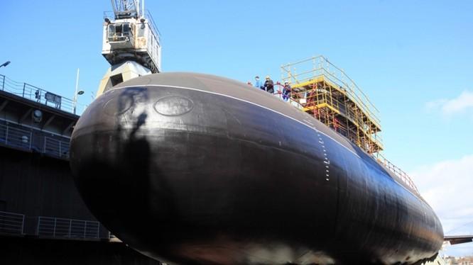 Nga liên tiếp nâng cấp hạm đội tàu ngầm
