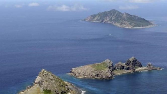 Quần đảo Senkaku/Điếu Ngư đang có tranh chấp Nhật-Trung
