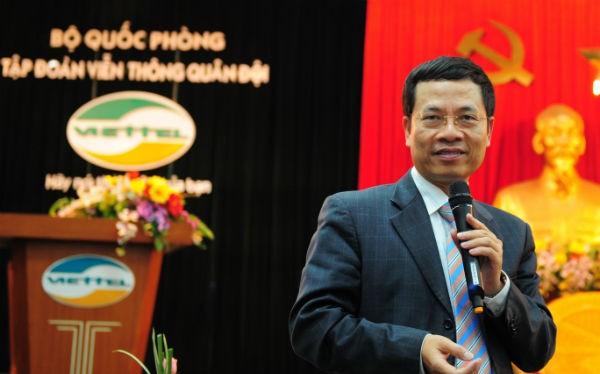 """Ông Nguyễn Mạnh Hùng: """"Đam mê là một động lực, đói khát là một động lực, khát vọng là một động lực""""."""