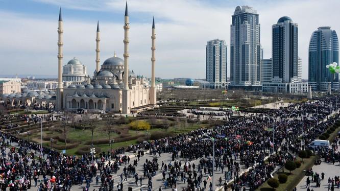 Thủ phủ Groznyi của Chechnya