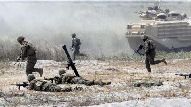 Quân đội Mỹ-Philippines tập trận đổ bộ chiếm đảo