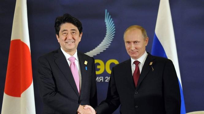 Ông Abe đã phải hủy chuyến thăm Nga do áp lực từ Mỹ