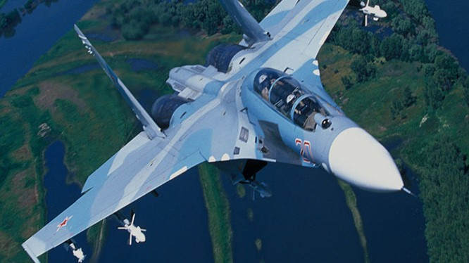 Tiêm kích Su-27 của Nga