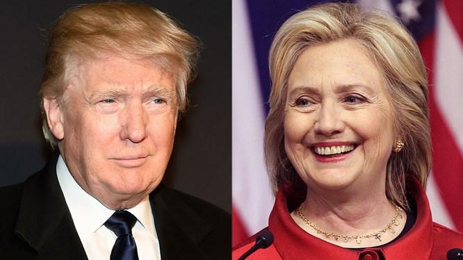 Bà Hillary và tỷ phú Trump thắng vang dội ở New York
