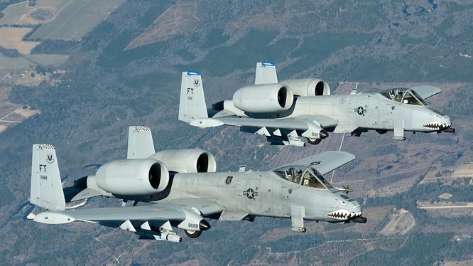 Chiến đấu cơ A-10C Thunderbolt của quân đội Mỹ