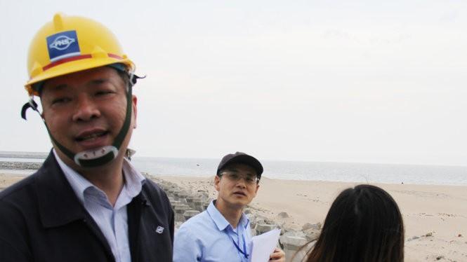 Ông Chu Xuân Phàm - trưởng văn phòng Formosa tại Hà Nội - Ảnh: Văn Định