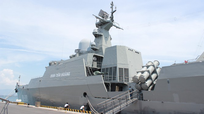Chiến hạm tàng hình Gepard Đinh Tiên Hoàng của hải quân Việt Nam