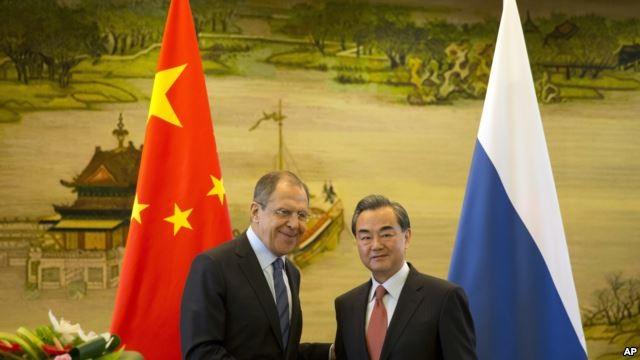 Lavrov và Vương Nghị tại Bắc Kinh ngày 29/4
