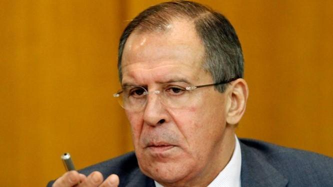 Ngoại trưởng Nga Lavrov