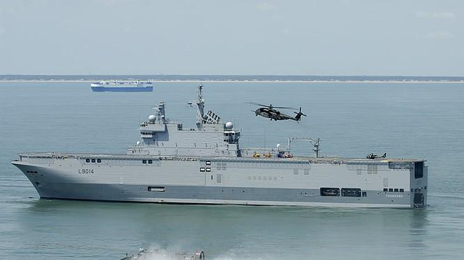 Chiến hạm Tonnerre của Pháp
