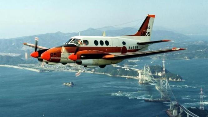 Máy bay huấn luyện TC-90 của lực Lượng Phòng vệ Nhật Bản.