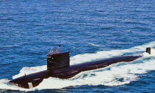 Một tàu ngầm hạt nhân của Trung Quốc. Ảnh: ndtv