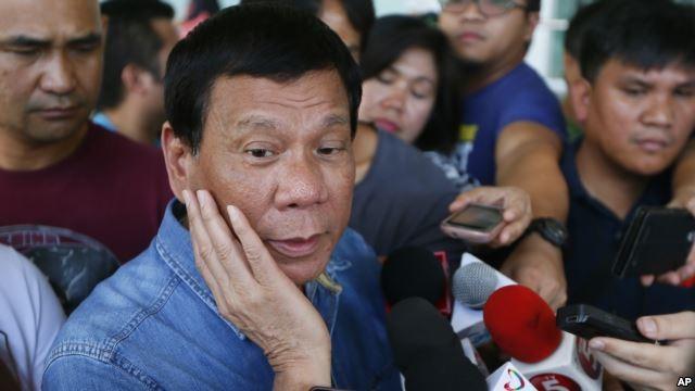 Ứng viên tổng thống Philippines Rodrigo Duterte