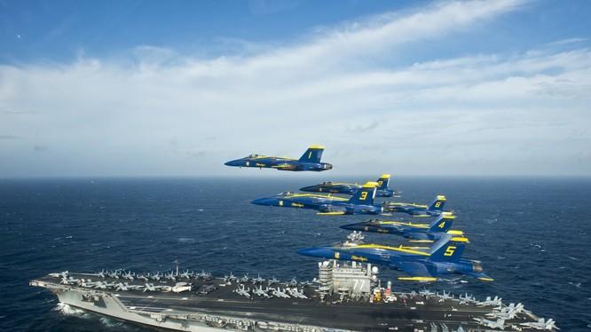 Chuyên gia đề xuất hải quân Mỹ hiện diện ở Biển Đông suốt 365 ngày trong năm