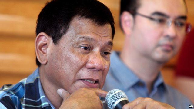 Ông Duerte vừa đắc cử tổng thống Philippines