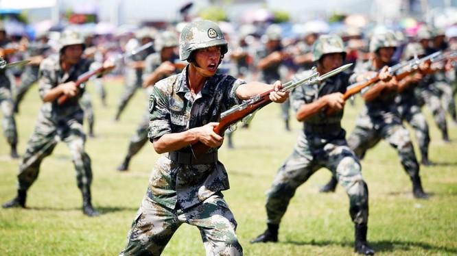 Ngân sách quốc phòng của Trung Quốc đứng thứ hai thế giới, chỉ sau Mỹ