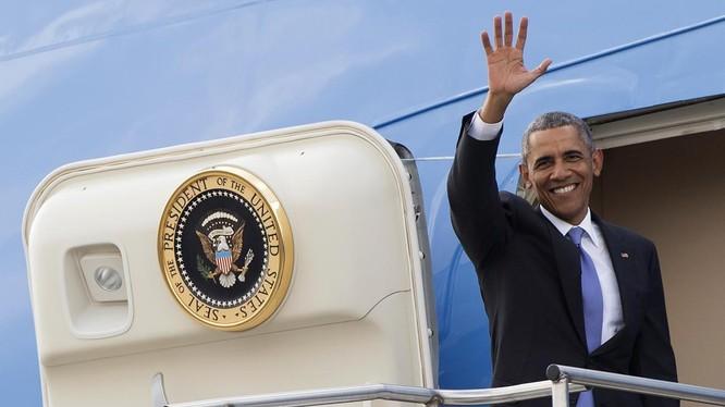 Ông Obama sắp cùng đoàn tùy tùng hùng hậu tới Việt Nam